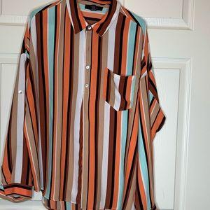 F21 multicolor shirt